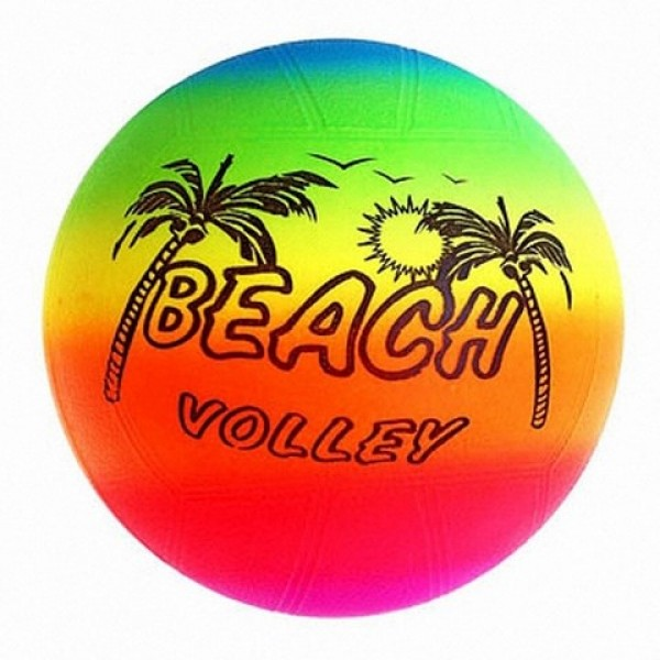 """Мяч 9"""" волейбол BT-PB-0015/20202 радуга"""