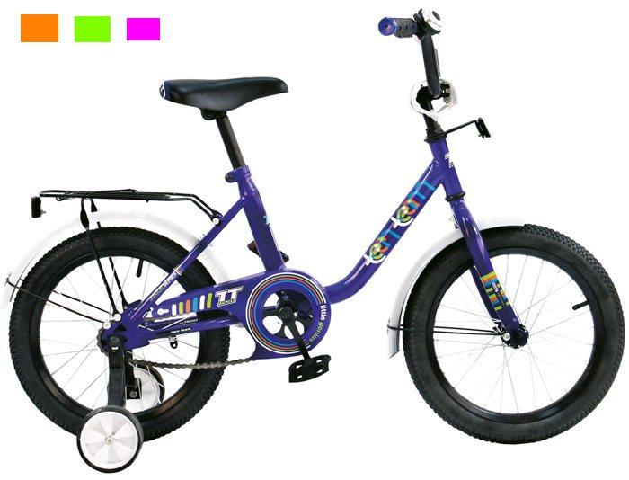 Велосипед двух-колёсный 12 12131 (4цв. Оранж, зелён, синий, розов)