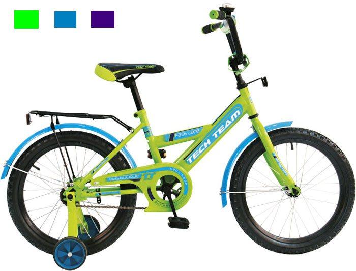 Велосипед двух-колёсный 18 18138 (4цв. Белый, голубой, салатовый, фиолет