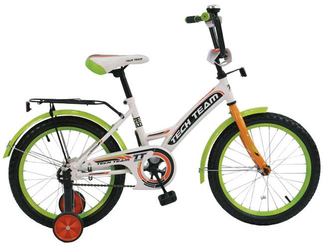 Велосипед двух-колёсный 14 14135 (4цв. Белый зелён, синий, фиолет