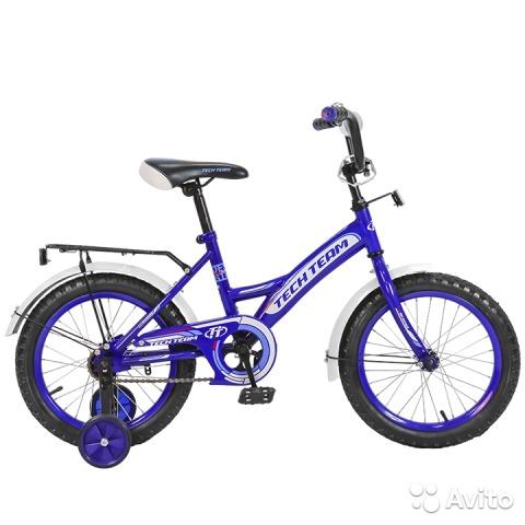 Велосипед двух-колёсный 16 16135 (4цв. Белый зелён, синий, фиолет)