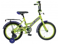 Велосипед двух-колёсный 18 18135 (4цв. Белый зелён, синий, фиолет