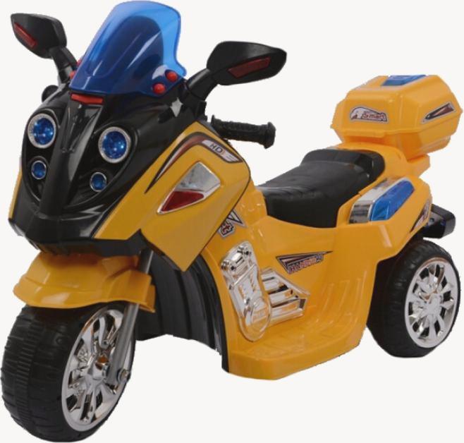 Мотоцикл 1858  реверс, свет, муз,6 км/ч,красный,89-46-42см