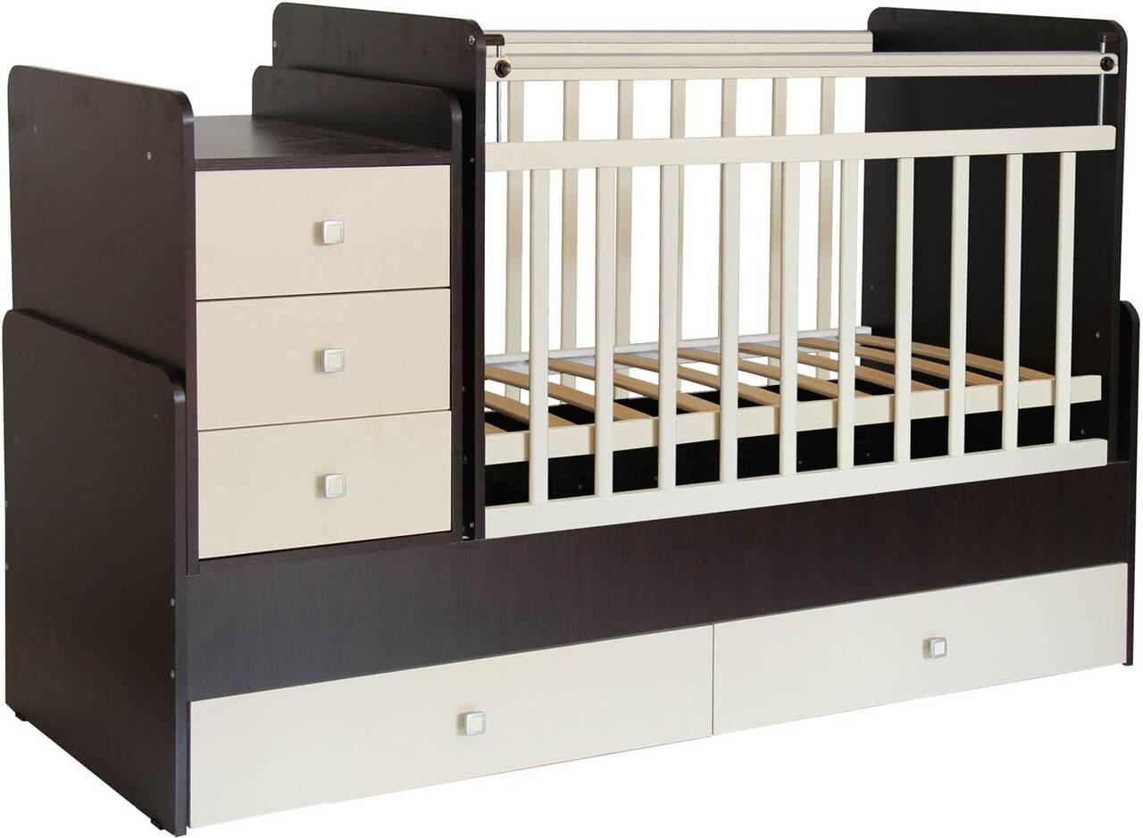Кроватка детская - трансформер Фея 1100