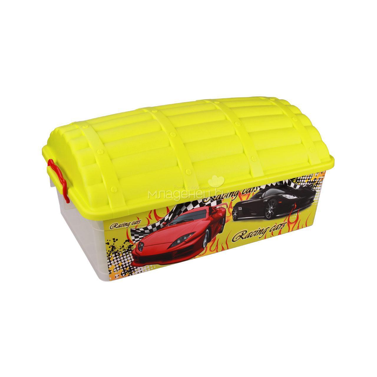 Контейнер детский для игрушек Сундук (формула-2) 40л. М4255