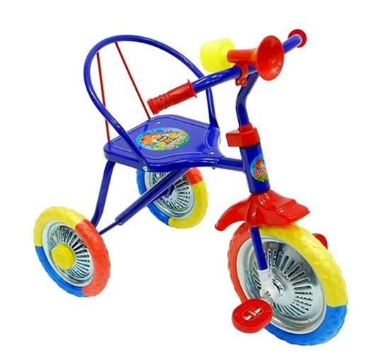 Велосипед трехколесный 236 (КРАСНЫЙ, СИНИЙ)