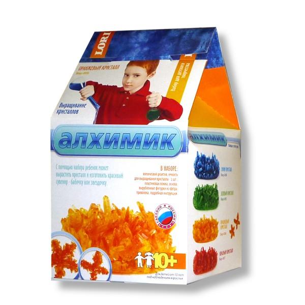 """Выращивание кристаллов """"Оранжевый кристалл"""" Вкр-006"""