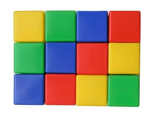 Набор кубиков 12 штук большой МР 14067