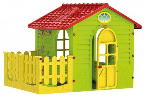 Домик с забором 10839 165х120х120,5 см.