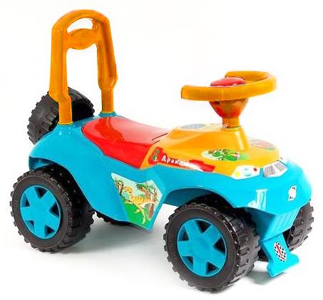 Машинка каталка Дракоша