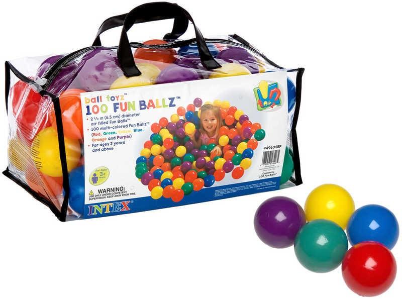 49602 Мячики для сухого бассейна (6,5 см) Intex
