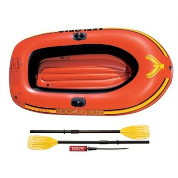 58331 Надувная лодка Explorer-200 (Set), 185х94х41 см Intex