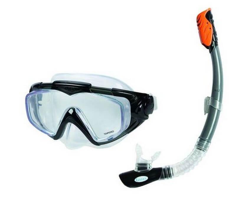 """55962 Комплект для плавания """"Silicone Aqua Pro"""" (55981, 55924) от 14 лет"""