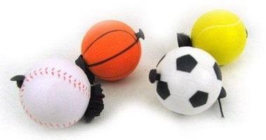 Мяч игровой на резинке