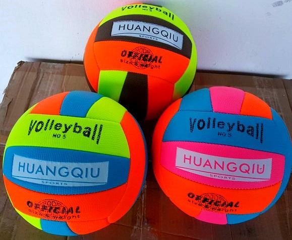 Мяч волейбол неон