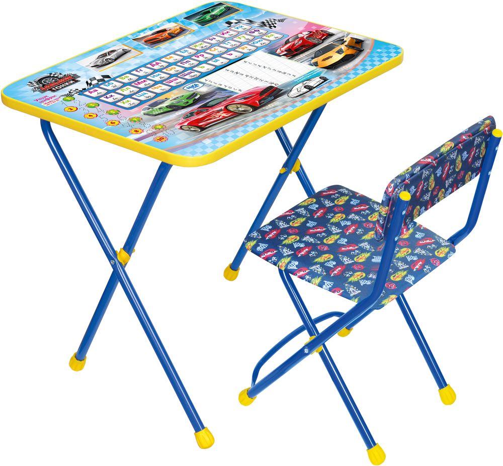 """Комплект детской мебели """"Познайка. Большие гонки"""", стул мягкий. Ника."""