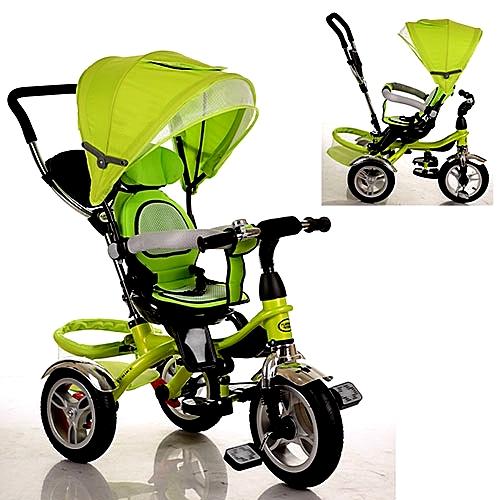 трёхколёсный велосипед green 5566-6