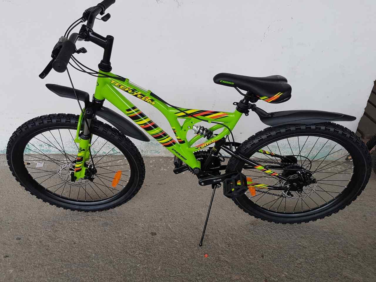Подростковый велосипед cross 24 TT