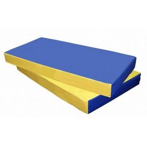 Мат №1 (100*50*10) сине/желтый 7842