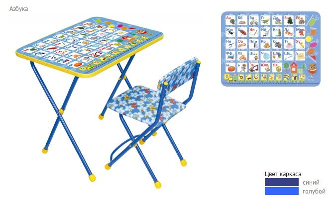 """Комплект детской мебели """"Познайка. Азбука"""", стул мягкий. Ника"""