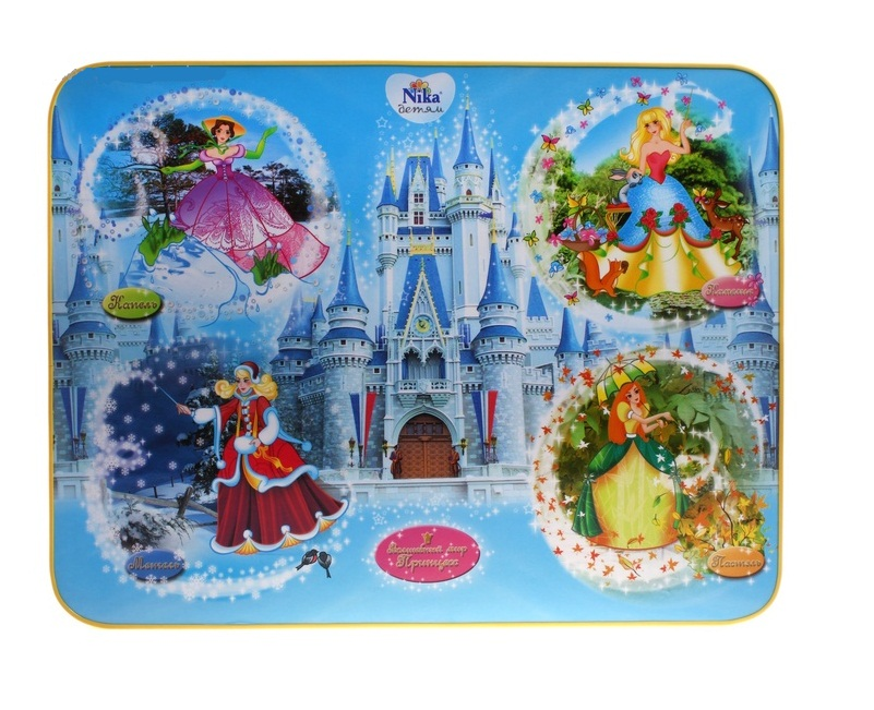 """Комплект детской мебели """"Познайка. Волшебный мир принцесс"""", стул мягкий. Ника"""