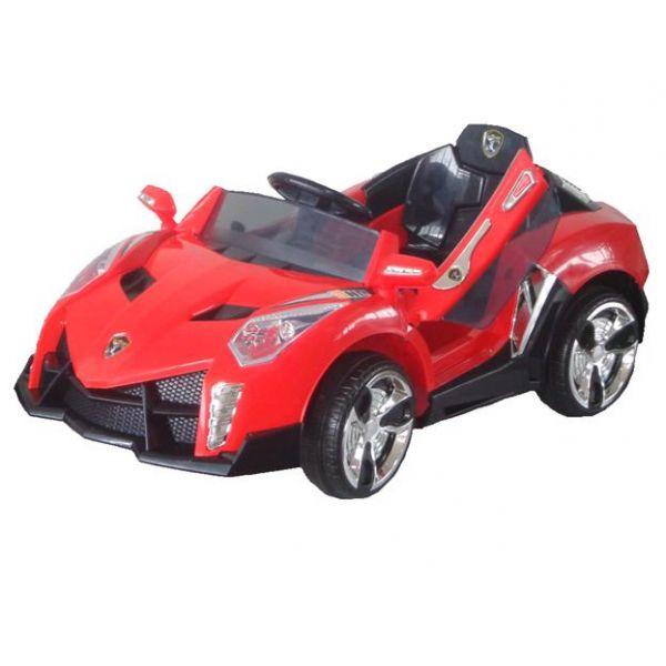 """Машина """"Bugati"""" на аккумуляторе, радиоуправляемая (красная)"""