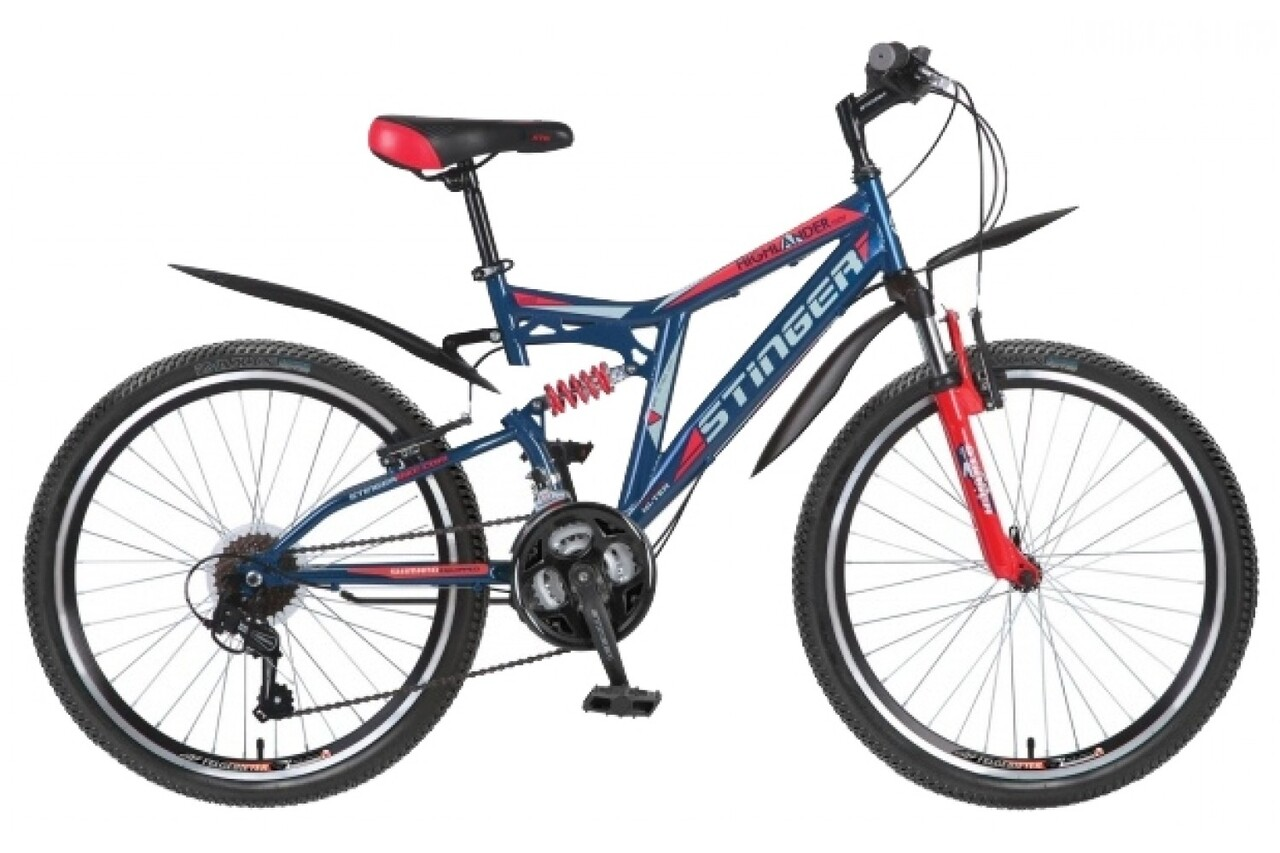 Велосипед Stinger Highlander 150V 24 (2016)
