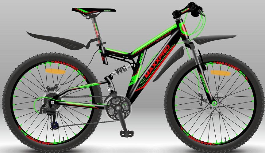 """Велосипед спортивный MaxxPro INSPECTOR 26 ELITE (Двухподвесы 26"""")"""
